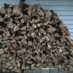 Hickory and Cherry Wood Pile