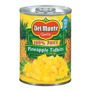 Can of pineapple